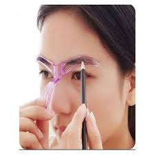 generic eyebrow template stencil grooming shaping helper diy tool
