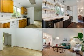 house renovation before and after 90 s fixer upper reno before and after listing photos create enjoy
