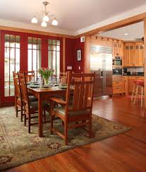 seattle mission style decorating dining room craftsman with