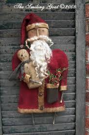 best 25 primitive santa ideas on pinterest primitive christmas