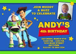 Mcdonalds Invitation Card Toy Story Birthday Invitations Themesflip Com