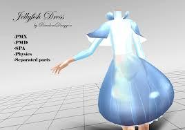 jellyfish dress jellyfish dress by randomdraggon on deviantart