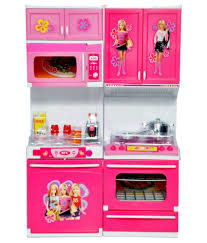 dream deals pink plastic barbie kitchen set buy dream deals pink