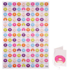 donut wrapping paper wrapping paper stationery the spotted zebra company