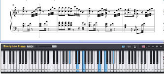 free he is a pirate of the caribbean theme piano sheet
