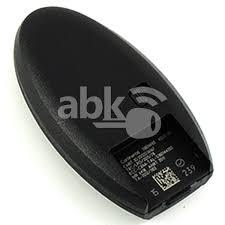 nissan qashqai key fob battery type abk 3618 genuine nissan qashqai x trail pulsar smart key 2