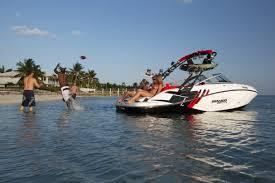 motorboating sea doo onboard