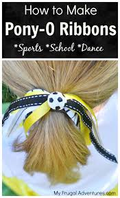 how to make hair bows how to make ponytail ribbons for pony os my frugal
