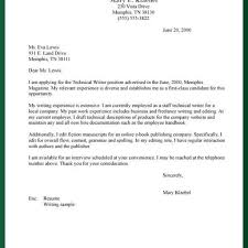 Cover Letter Online Format Cover Letter Technical Writer Gallery Cover Letter Ideas