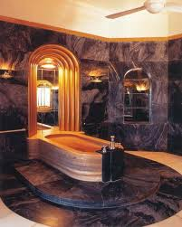 Art Deco Bathroom by Bahtroom Cozy Bathtub Bit Glass Divider Beside Art Deco Bathroom