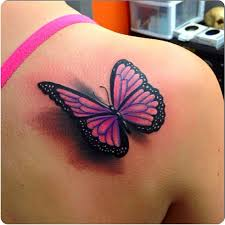 31 3d butterfly tattoos