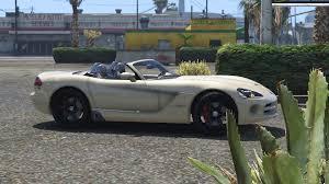 Dodge Viper Custom - dodge viper srt 10 cabrio gta5 mods com
