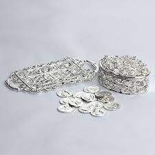 arras boda oval shaped arras chest with tray arjc003 arras de boda unity