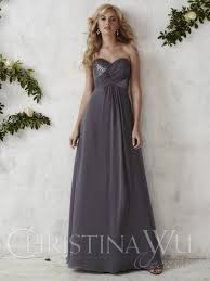 christina wu occasions 22687 sequin chiffon bridesmaid gown