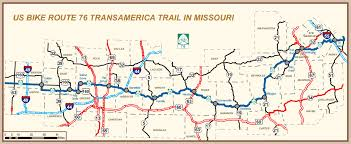map us route 1 new missouri highway map features katy trail u s bike route 76