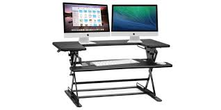 Computer Desk Posture Get Better Posture With The Halter Height Adjustable Sit Stand