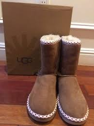 ugg bryce womens 1009177 blk ugg australia s sutter leather toast boot size 7 1005374