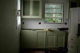 Distressed Painted Kitchen Cabinets by Brilliant Olive Green Painted Kitchen Cabinets Stylish With