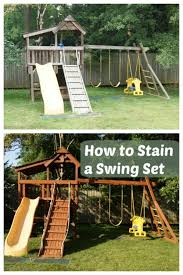 Diy Backyard Swing Set 12 Outdoor Furniture Makeovers Easier Than You Think