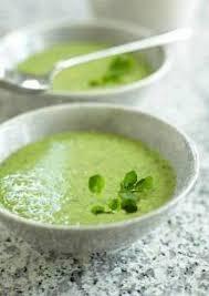 cuisiner le cresson soupe aux épinards et au cresson