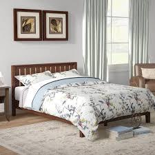 winston porter dalila solid wood platform bed u0026 reviews wayfair ca