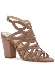 vince camuto vince camuto vince camuto norla strappy block heel sandals women s