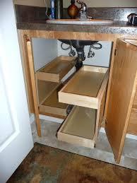 under kitchen sink storage ideas lovely under sink bathroom storage for best kitchen sink storage