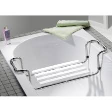 siege pour planche ou siège de bain à poser inox leroy merlin