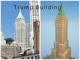 New York City Minecraft Map by Trump Building Nyc Minecraft Project