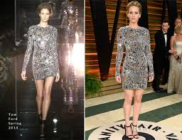 Vanity Fair After Oscar Party Jennifer Lawrence In Tom Ford Vanity Fair Oscar Party 2014 Red