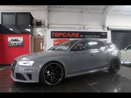2015 audi rs4 used 2015 audi rs4 avant fsi quattro for sale in sheffield south
