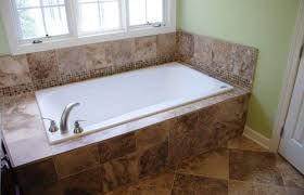 drop in tub what is the size of the tub deck
