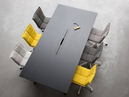 Grey Meeting Table Lab Meeting Table Lab Collection By Inno Design Harri Korhonen