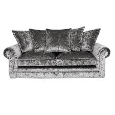 chesterfield velvet sofa crushed velvet furniture sofas beds chairs cushions