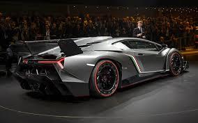 Lamborghini Veneno Back - lamborghini unveils 3 9 million car all 3 sold sci tech