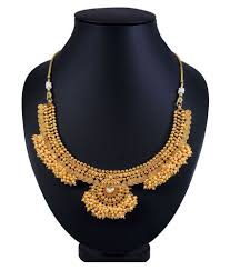 necklace design images Sukkhi astonish jalebi design gold plated choker necklace set for jpeg