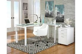 ashley furniture desks home office ashley furniture l shaped desk white home office desk chair view 3