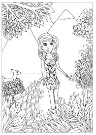 flower by miwah zen and anti stress coloring pages for