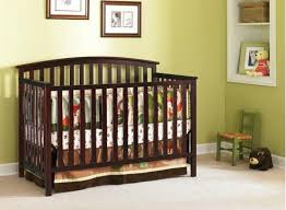 Graco 4 In 1 Convertible Crib Graco Freeport 4 In 1 Crib Cherry Baby