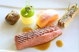 navet cuisine poitrine de canard challandais rôtie pêche blanche pochée au sureau