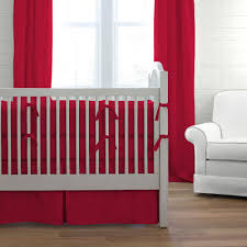 Red Boy Crib Bedding by Red Baby Bedding Solid Red Crib Bedding Collection Carousel