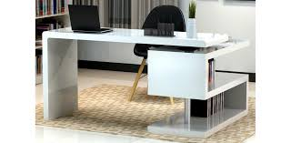 Contemporary Office Desk Furniture White European Design Office Desk A33