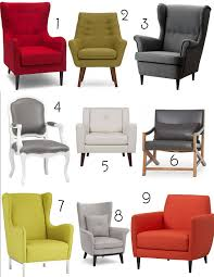 Comfortable Chair And Ottoman Armchair Accent Chairs Small Space Living Room Furniture
