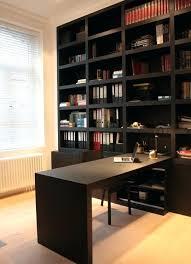 meuble bibliothèque bureau intégré meuble bureau bibliotheque bibliotheque avec bureau integre