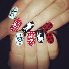 red and white nail designs trend manicure ideas 2017 in pictures