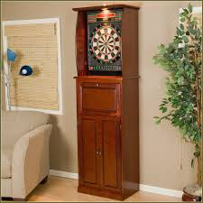 Dart Board Cabinet Plans Halex Dartboard With Cabinet Home Design Ideas
