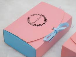 bi color paper gift cake packaging boxes wholesale ribbon decorate