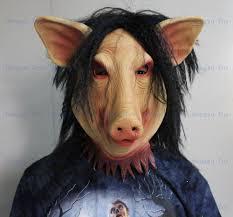 aliexpress com buy halloween saw pig mask scary halloween props