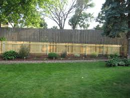 backyard fence ideas on a budget home outdoor decoration