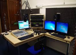 News Studio Desk by Radio Studio Services News